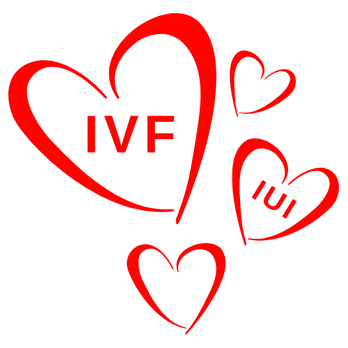IVF and IUI Hearts